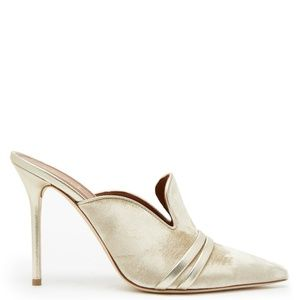 Malone Souliers Mules Hayley velvet leather mul